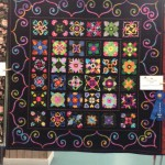 Medium Bed Quilt  1st Place, Jean Merle