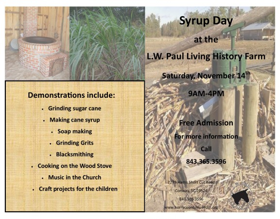 Syrup Day