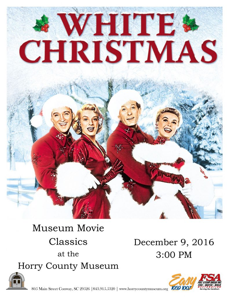 Museum Movie Classics continues with White Christmas | Horry ...