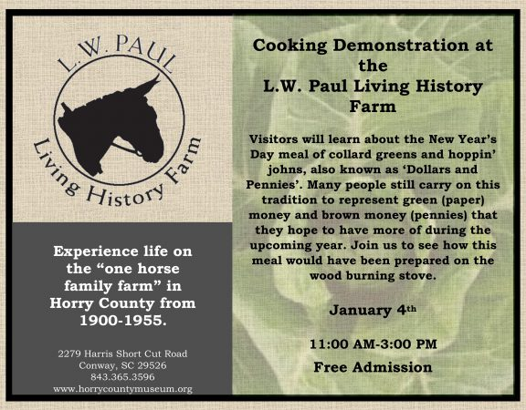 January Cooking Demonstration