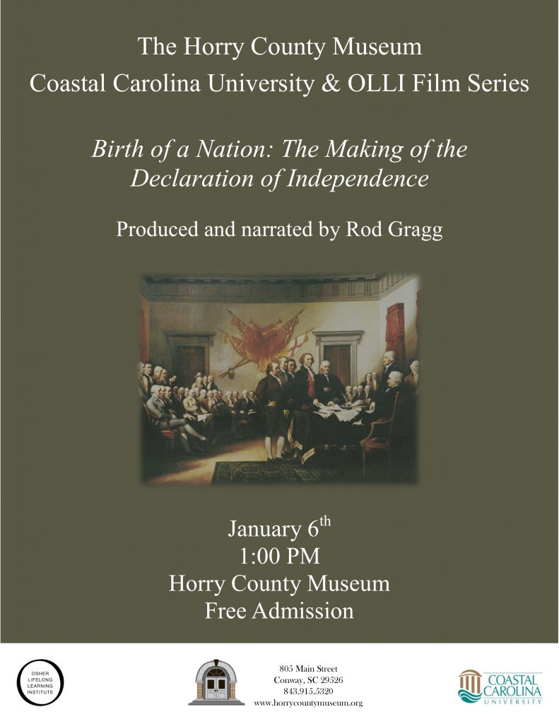 2018 ccu olli film series begins with birth of a nation the 2018 ccu olli film series begins with birth of a nation the making of the declaration of independence publicscrutiny Image collections