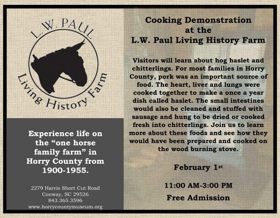 February Cooking Demonstration