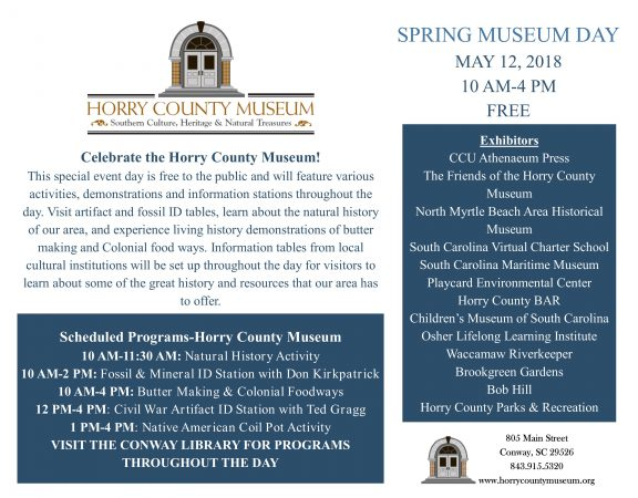 Spring Museum Day Flyer